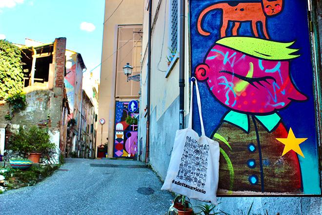 """""""Adotta un vicolo"""" – Street art e riqualificazione urbana a Carrara"""