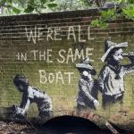 Banksy – Stencil art a Gorleston, Great Yarmouth e Lowestoft
