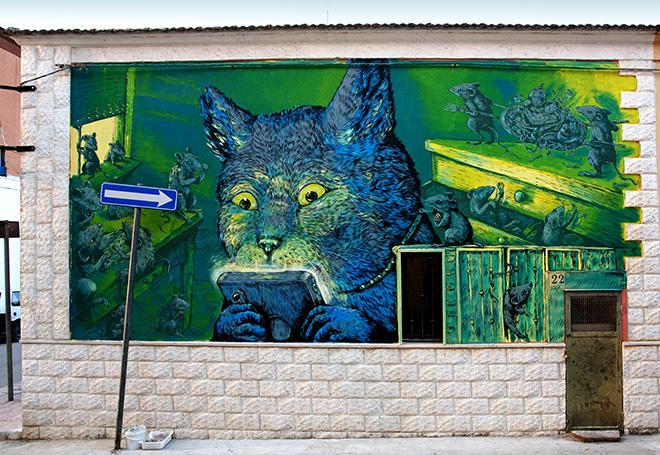 """Stramurales 2021 – """"Revolution"""". Stornara: il nuovo borgo della street art"""