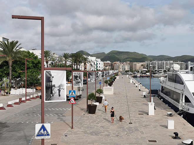 Martha Cooper - STREET PLAY, open-air exhibition, BLOOP Festival Ibiza. photo credit: Biokip Labs