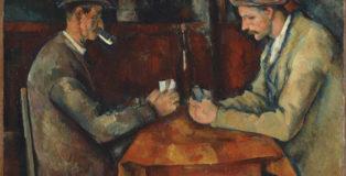 Paul Cézanne - I giocatori di carte, 1890-1895. Olio su tela, Musée d'Orsay, Parigi