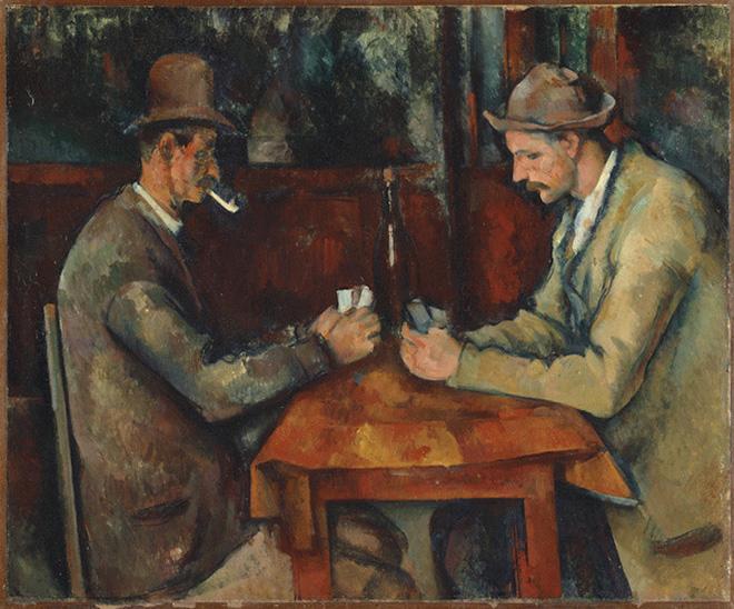 Il tema del gioco nell'arte: da Caravaggio a Goya, fino a Cézanne