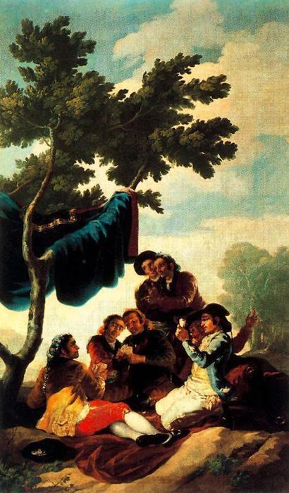 Francisco Goya - I giocatori di carte