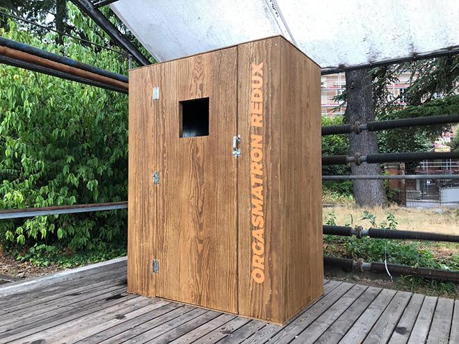 Orgasmatron Redux – Installazione di Norma Jeane per Le Serre dei Giardini