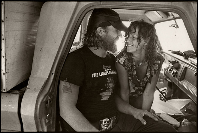 Saul Bromberger - Ray and Susan, Clear Lake, CA 1986. © Saul Bromberger/All About Photo