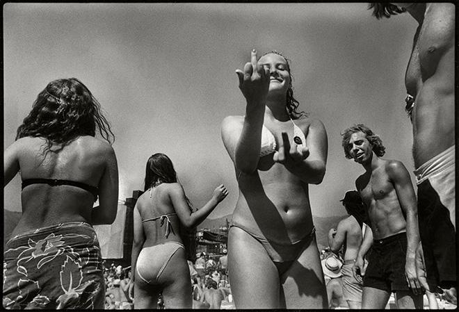 Saul Bromberger - Teenagers at the US Festival, San Bernardino, CA 1982. © Saul Bromberger/All About Photo