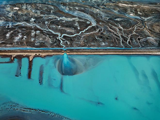 Cerro Prieto Geothermal Power Station, Baja, Mexico. Photo by Edward Burtynsky.