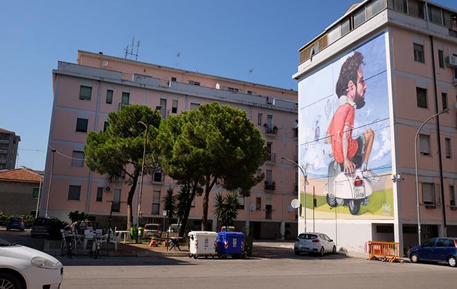 Antonello Macs - Murale nel quartiere Zanni, Pescara, MURAP Festival, 2021