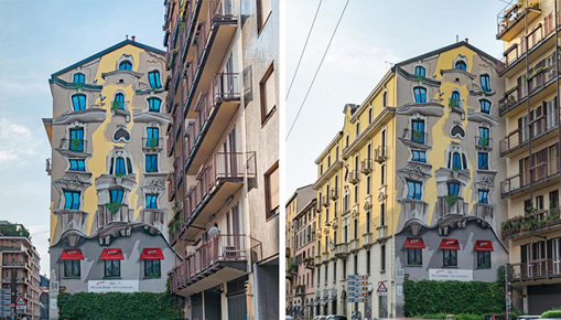 Cheone - The Vision, murale a Milano