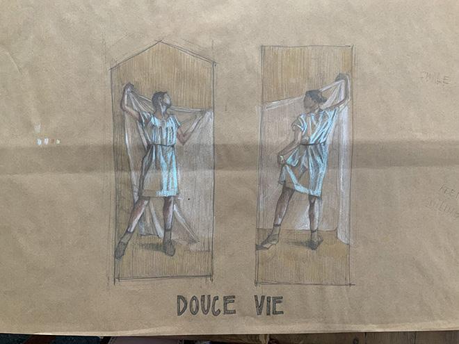 Hyuro - Douce Vie (Concept by Hyuro), Festival Echappées d'Arts ad Angers, Angers, 2021