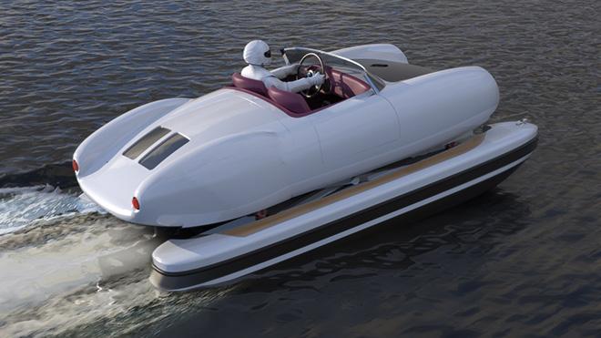 La Veloce - Floating motors