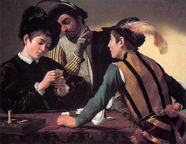 Michelangelo Merisi - Caravaggio, 1594. Olio su tela, Kimbell Art Museum, Fort Worth