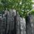 Christian Lapie - LES SECRETS EN EQUILIBRIO, Installazione al Treeart Festival