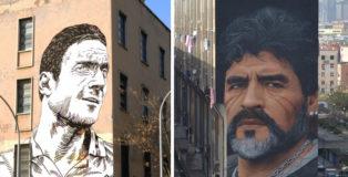 Street art e calcio - Un legame sempre più forte
