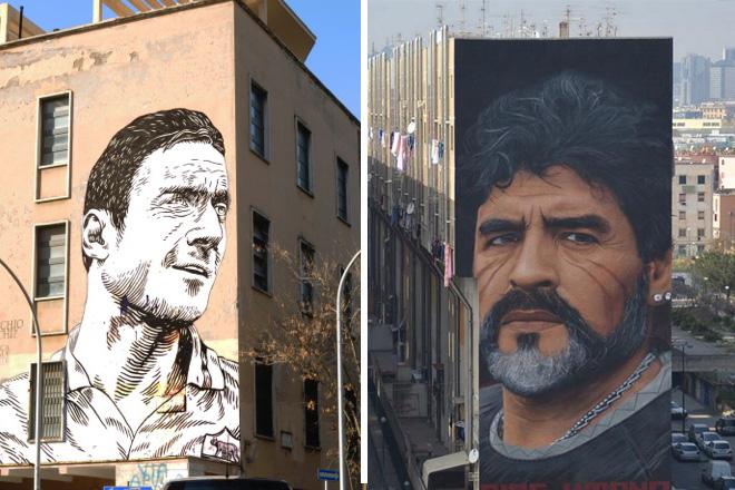 Street art e calcio – Un legame sempre più forte