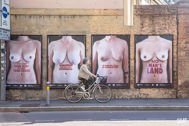 CHEAP - La rivoluzione dei corpi, arte pubblica a Bologna. photo credit: Margherita Caprilli