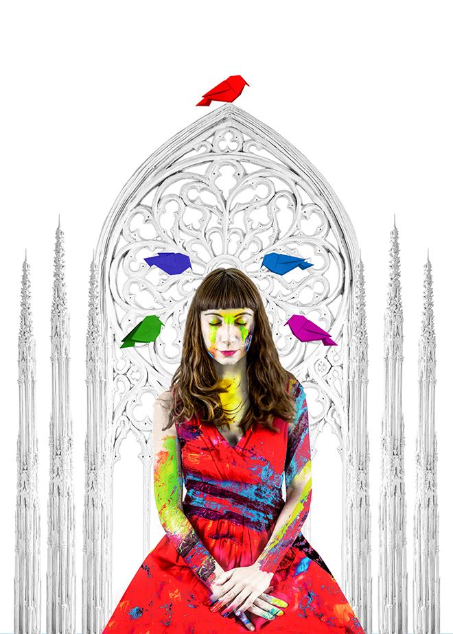 Erika Zolli - Colorful, Ascendit, Fine Art series