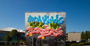 Vincent Huibers - Open Minds, See No Borders, Torino, HollAndMe - Dutch Street Art In Six Italian Cities. Photo credit: Michele Rossi
