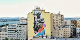 Kraser - T.R.U.St (II edizione), murale a Taranto. photo credit: Cosimo Calabrese