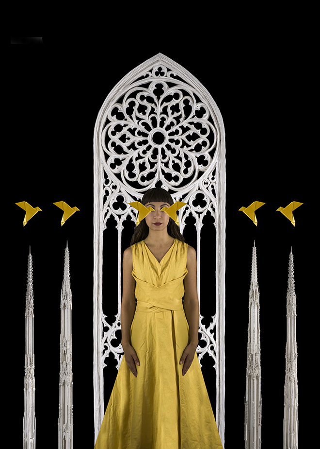 Erika Zolli - Order of gold, Ascendit, Fine Art series