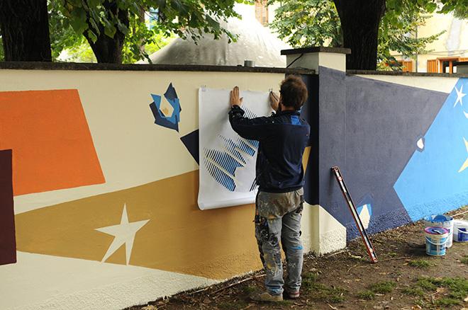 MisterCaos - Le rughe delle piazze trattengono dialoghi capaci di insegnare libertà (Work in progress), Cinisello Balsamo. photo credit: Marco Fornari.
